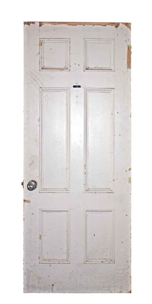 Interior Six Vertical Paneled Door