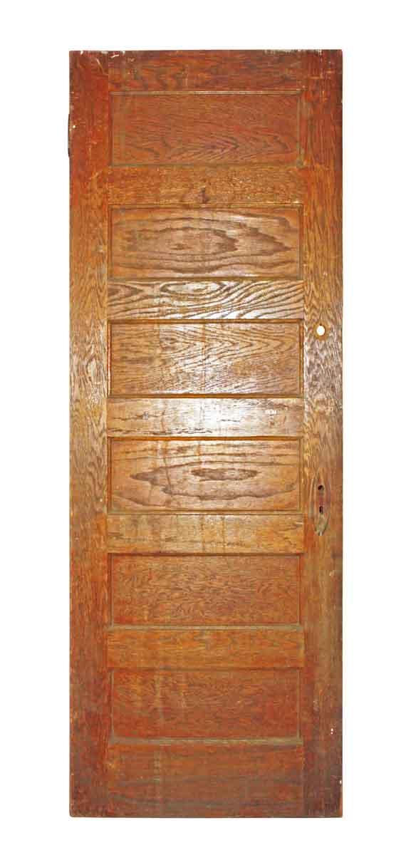 Six Horizontal Paneled Door