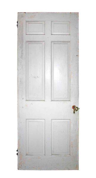 Six Vertical Panels Door