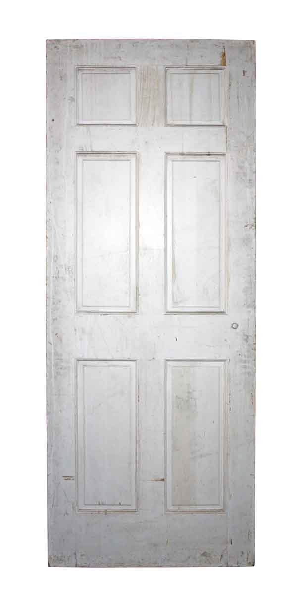 Six Vertical Panels Interior Door