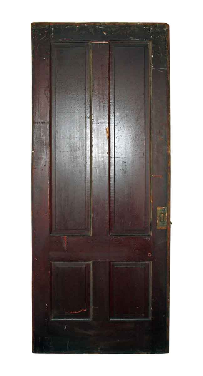 4 Panel Interior Doors : Four panel pocket door olde good things