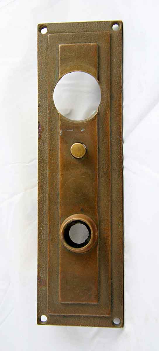 Chantrell Bronze Backplate with Door Bell