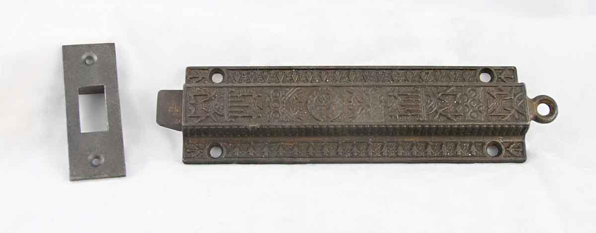 Victorian Cast Iron Surface Bolt