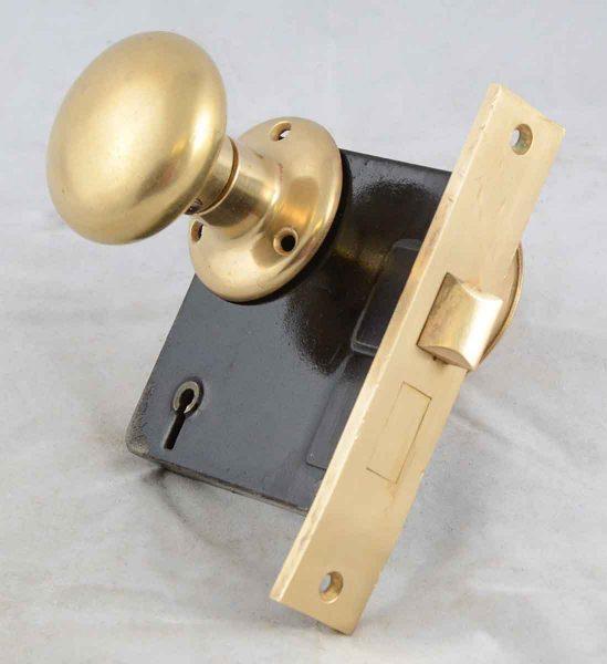 Bronze Doorknob with Locks