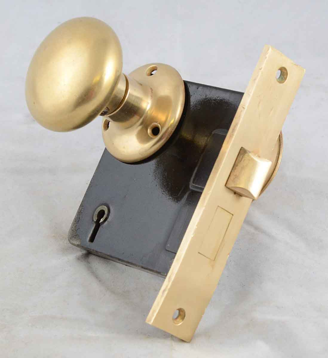 Bronze Doorknob with Locks