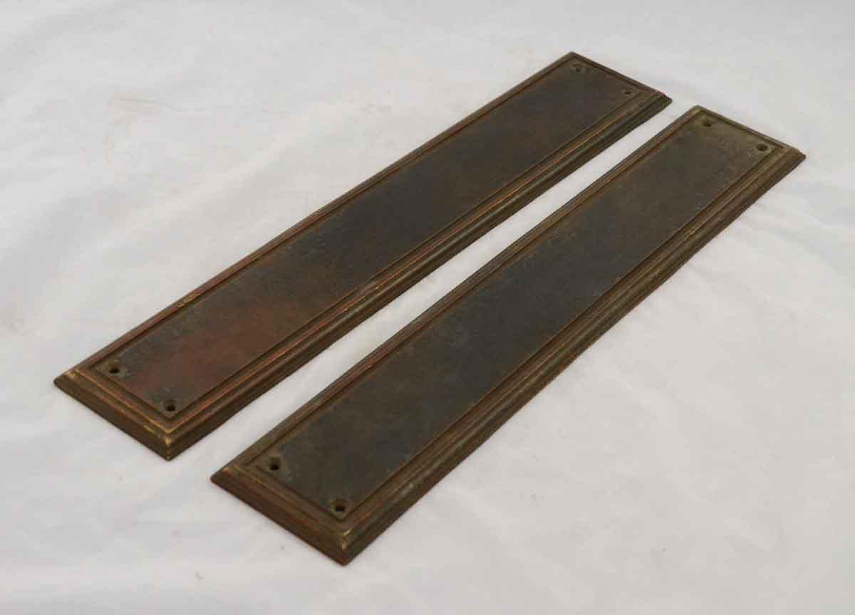 Cast Brass Push Plate