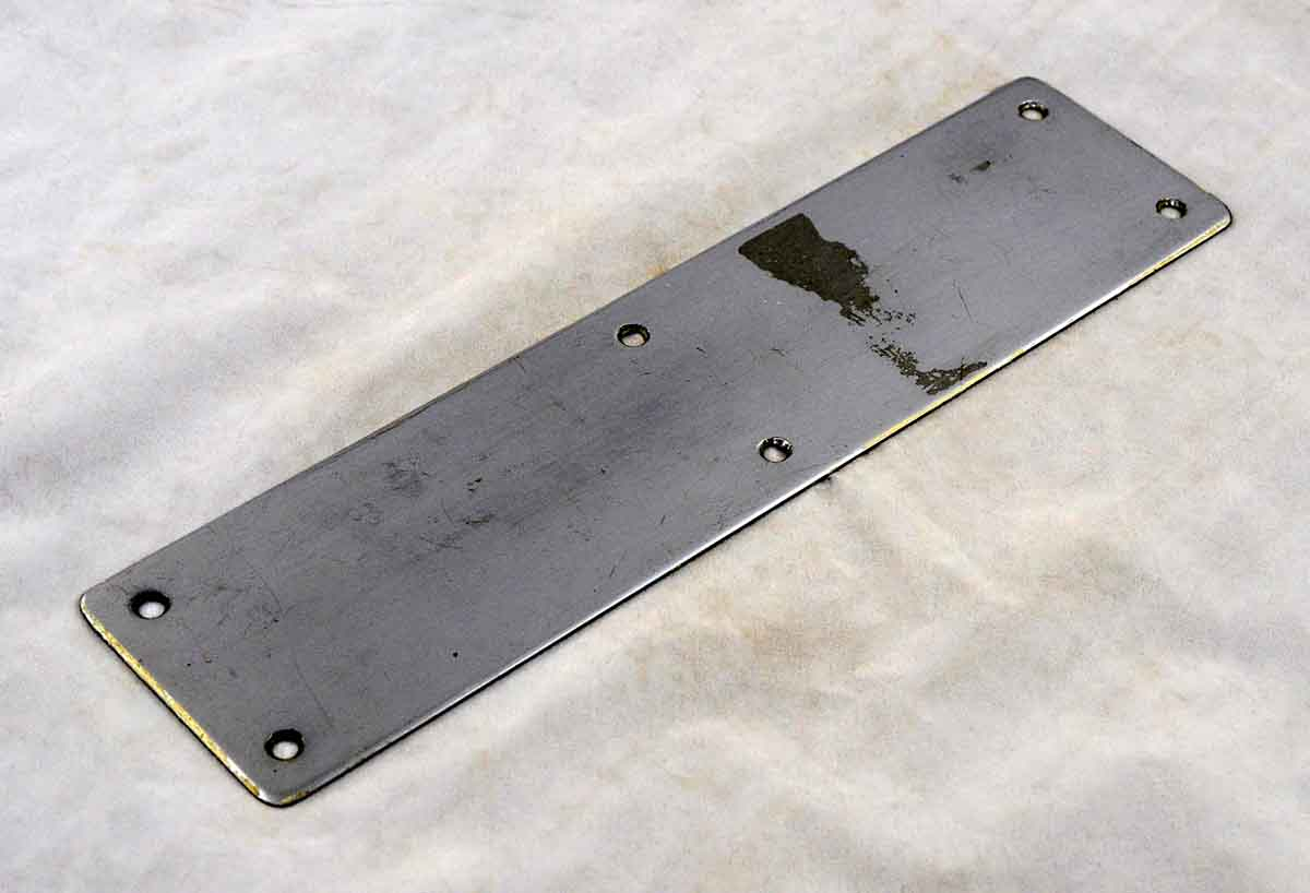 Very Simple Large Push Plate