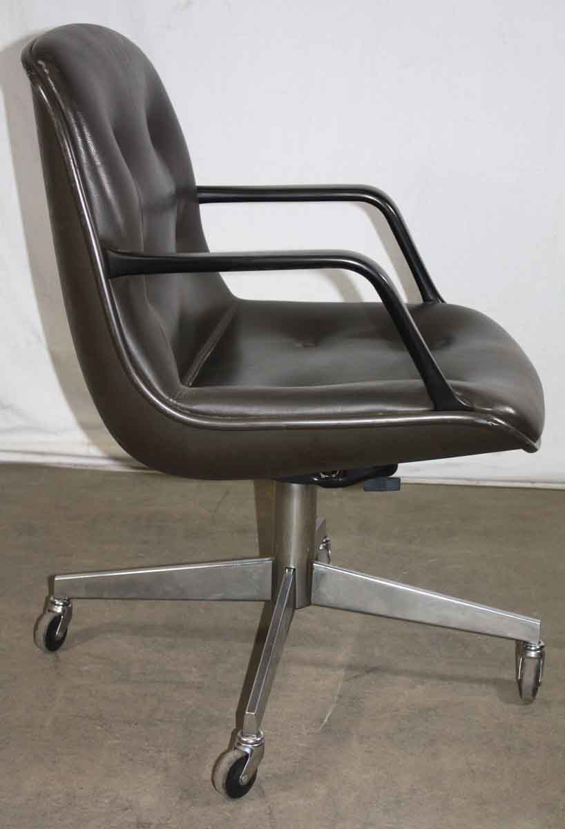 Mid Century Set Of Four Padded Office Chairs Olde Good