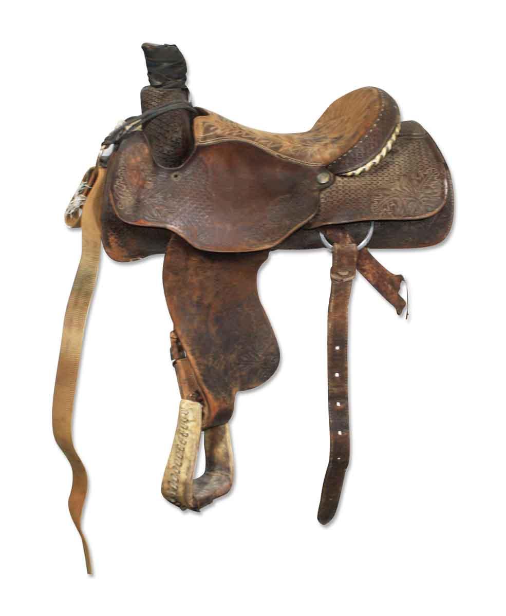 Matt Tyler Jr. Roper Longhorn Saddle