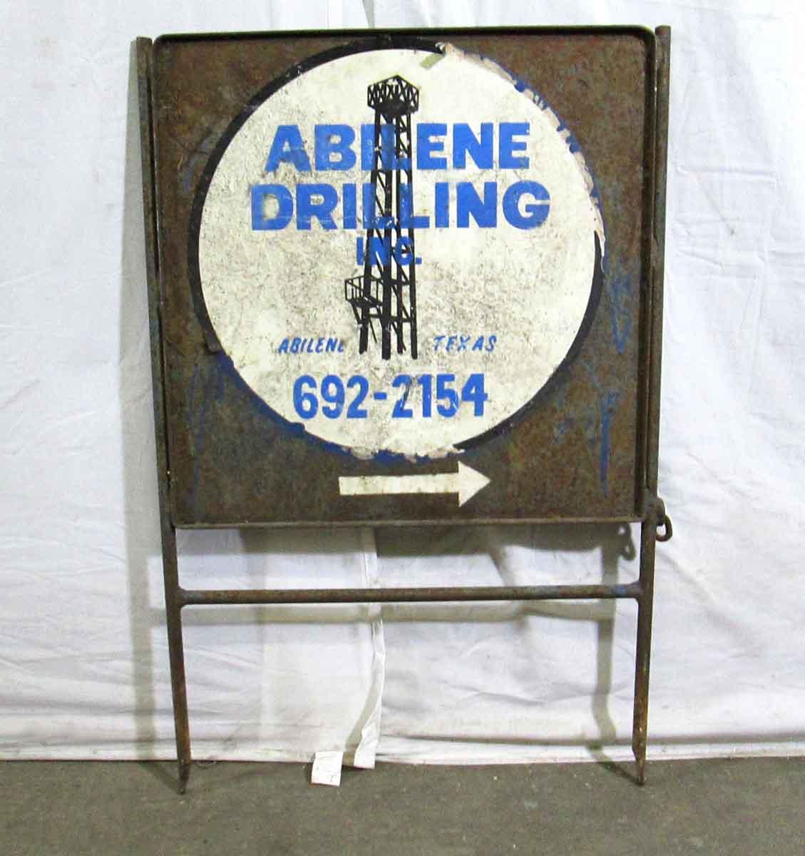 Vintage Drilling Sign