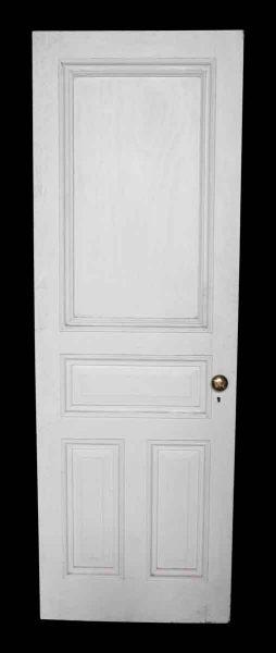 Four Panel White Door