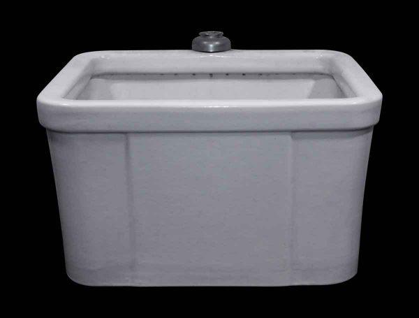 Solid Porcelain Kitchen Bath or Garden Sink