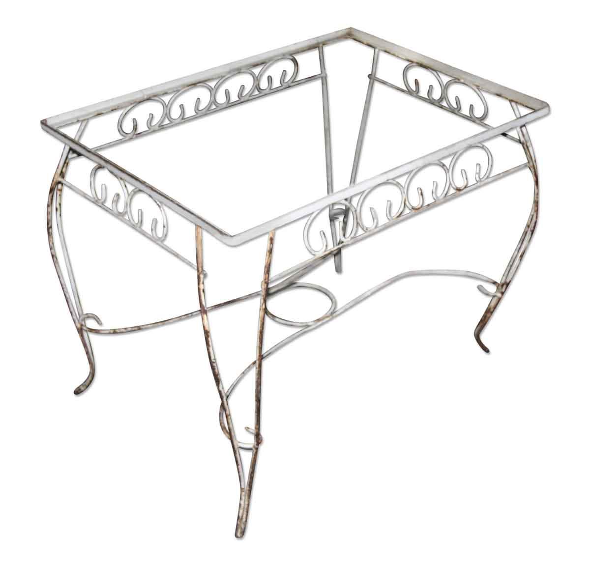 Antique Patio Table Base