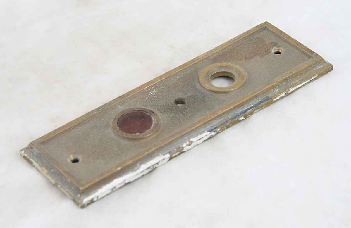 Cast Bronze Elevator Indicator Plate