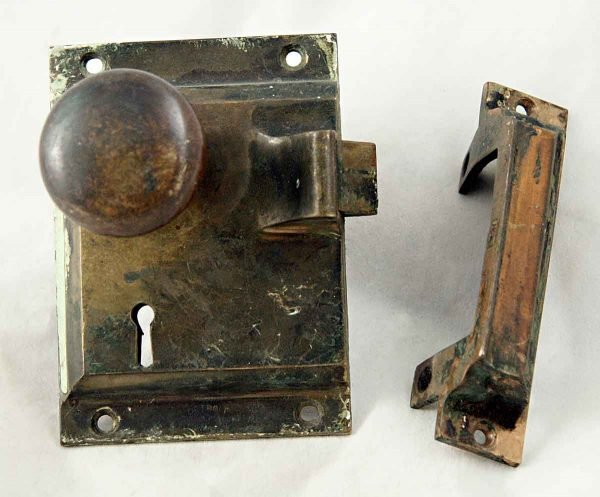 Surface Mount Mortise Lock Set