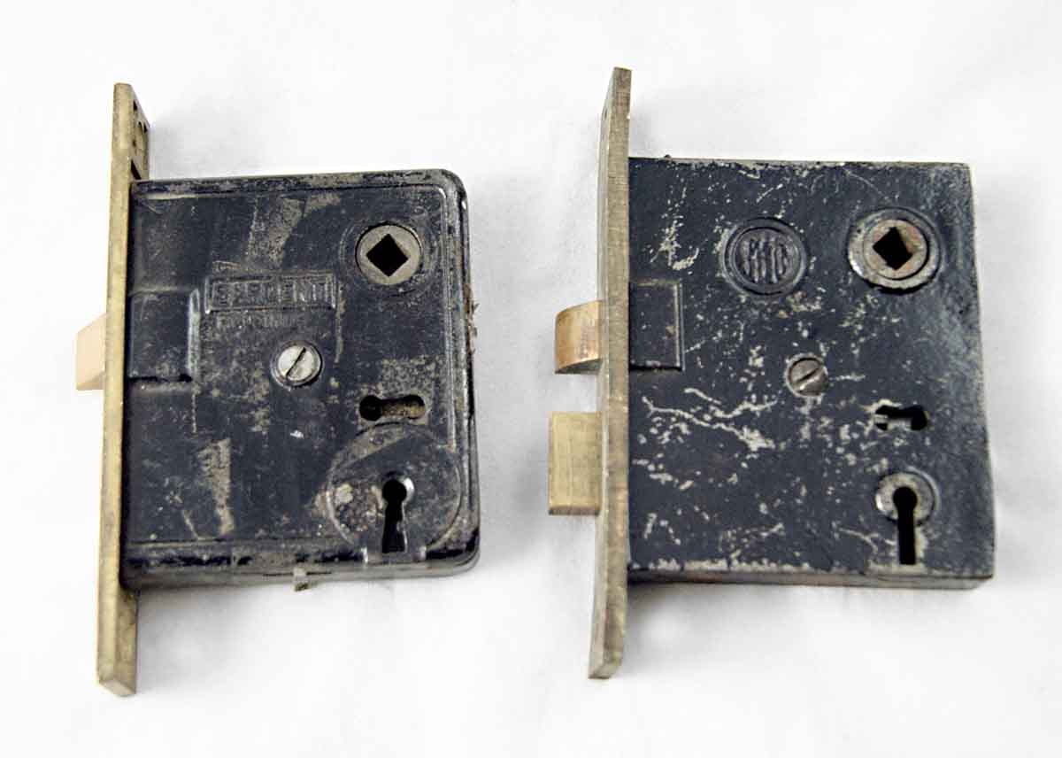Passage Mortise Locks with Thick Plates