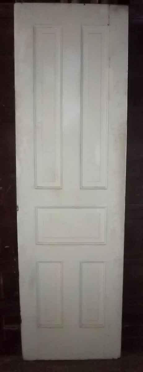 Tall Narrow Victorian Five Panel Door