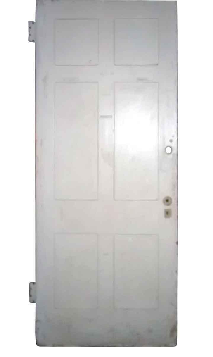 Six Recessed Panel Door