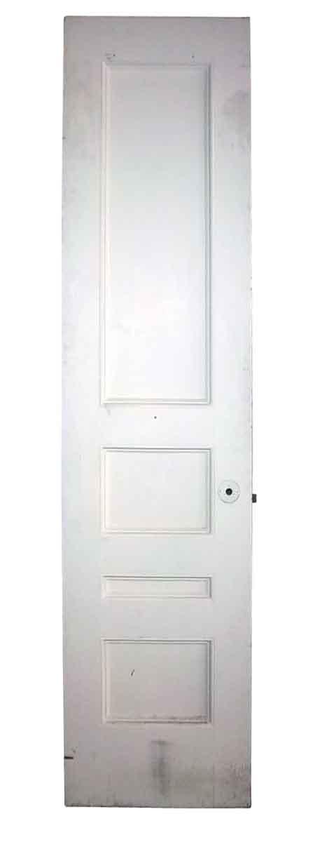 Tall & Narrow Antique Four Panel Closet Door
