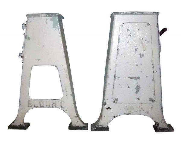 Unique Pair of Iron Machine Legs
