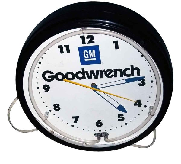 Gm Neon Clock