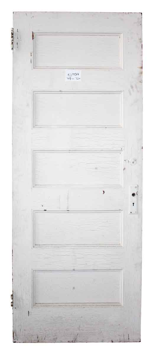 Horizontal Five Panel Door