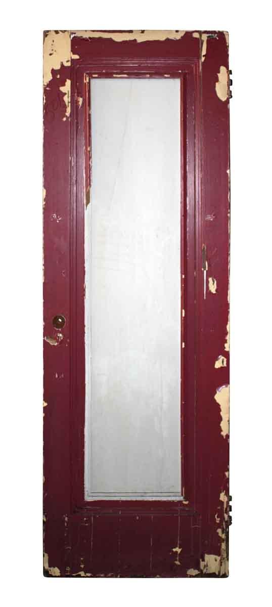 Single Glass Panel Door