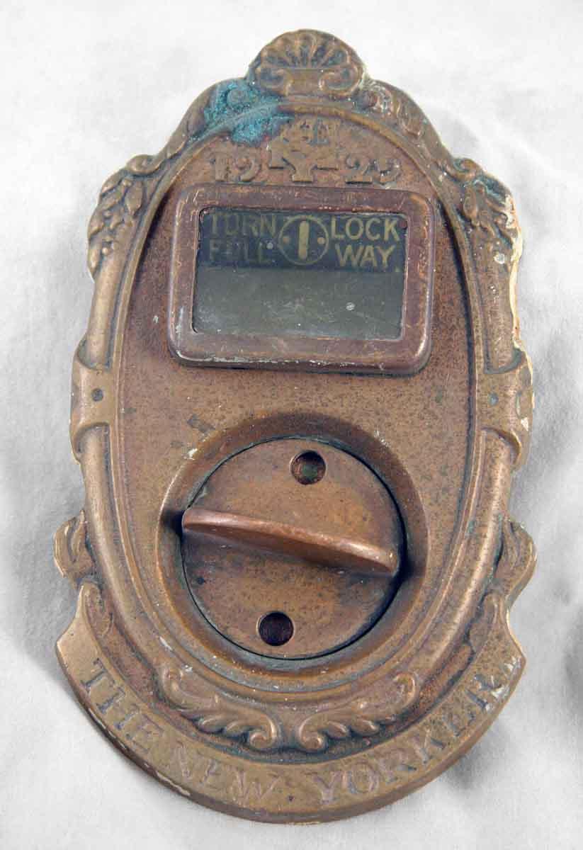 Brass Door Turn Lock