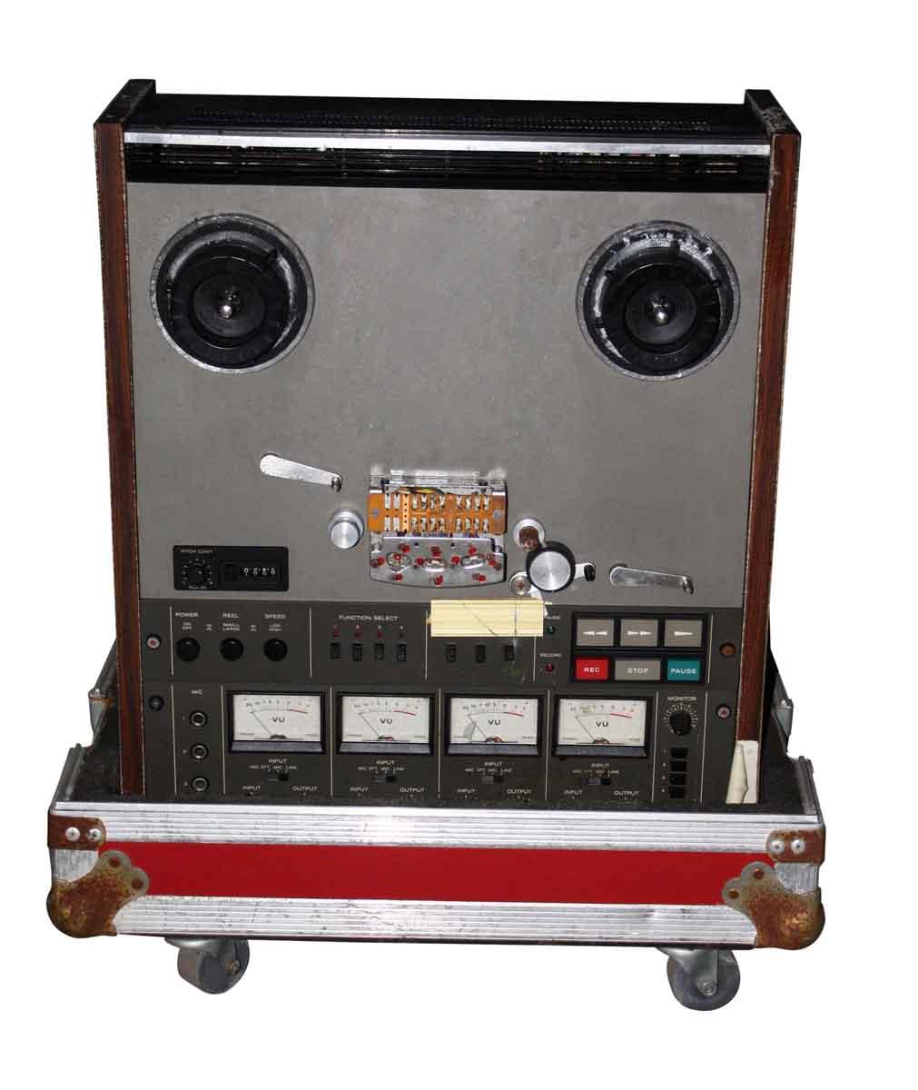Reel To Reel Tape Recorder & Case