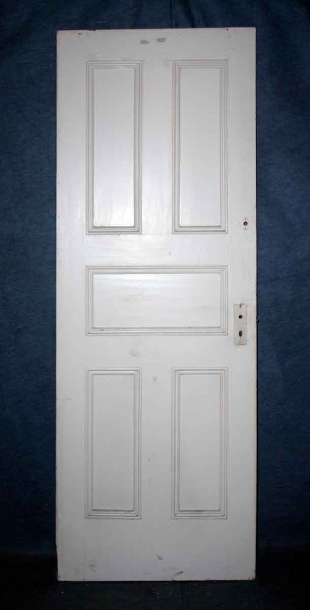 Set of Four Matching Five Panel Doors