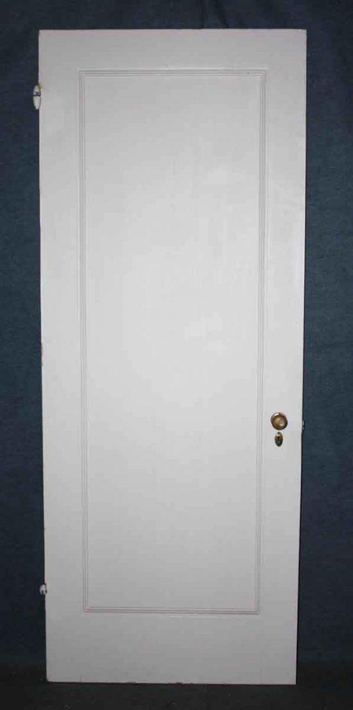 Solid Wood Single Panel Door & Architectural Salvage Doors Vintage \u0026 Antique Doors | Olde Good ...