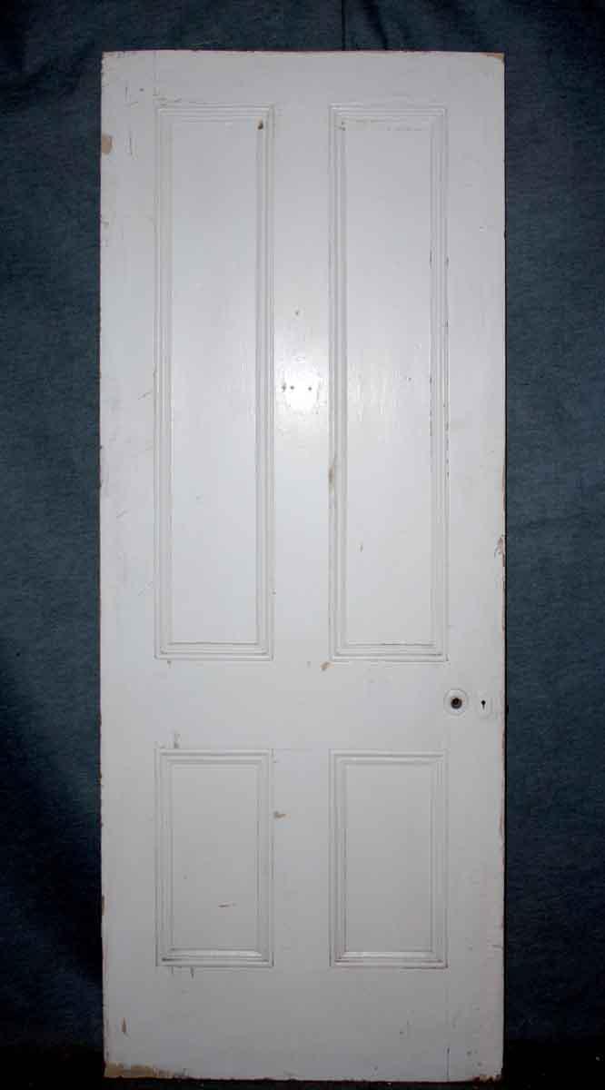 Four Panel Wood Door