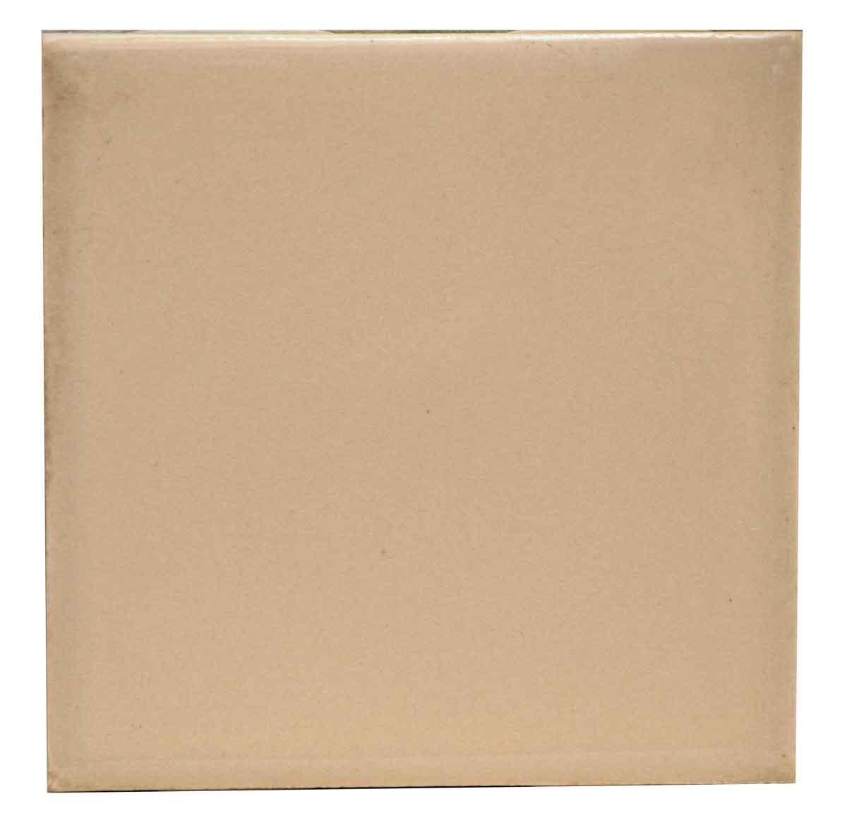 Plain Beige Colored Tile
