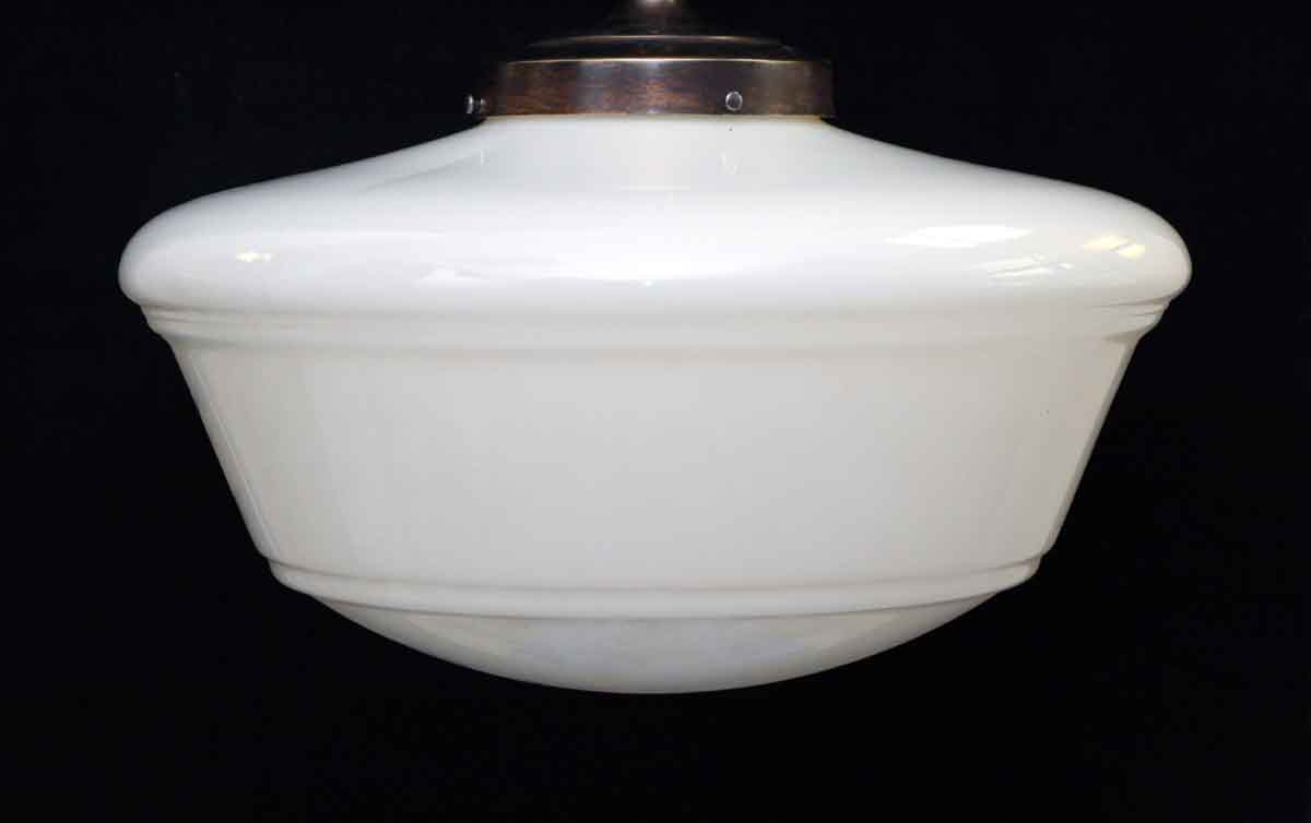 Original Milk Glass Globe