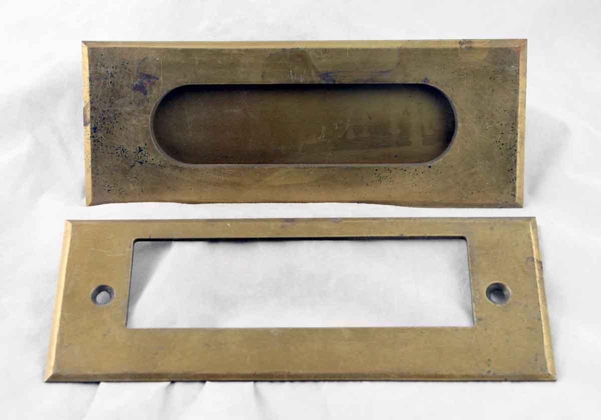 Mid Century Brass Letter Slot