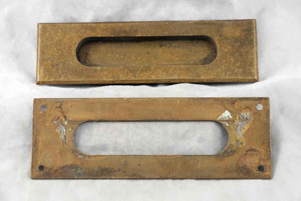 Antique Solid Brass Letter Slot
