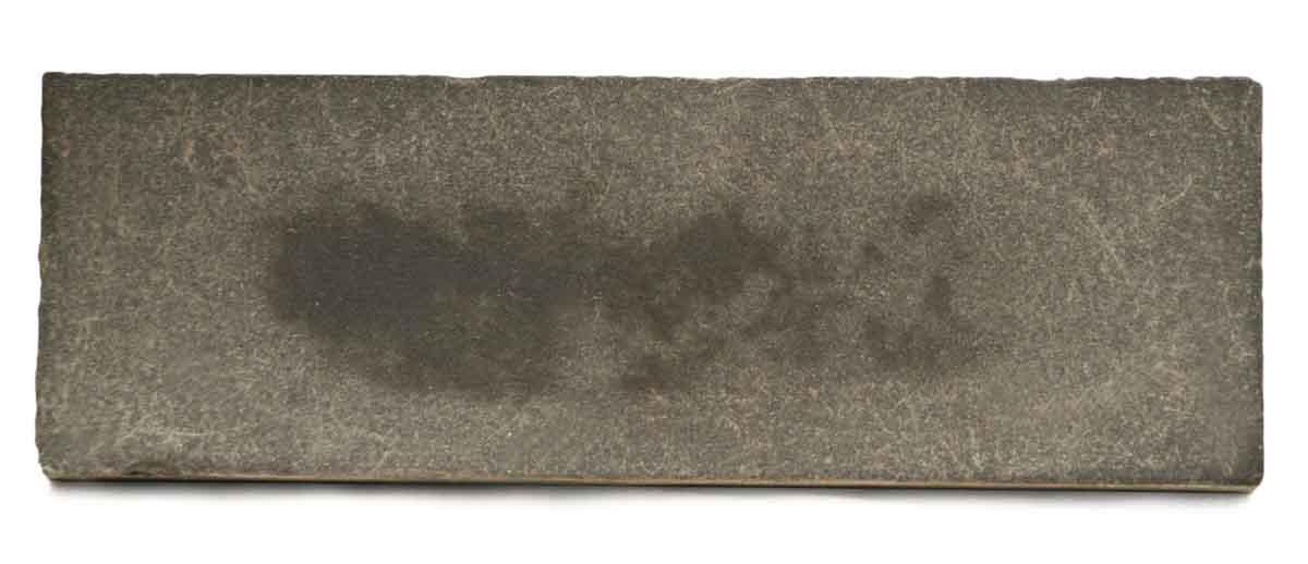 Original Antique Charcoal Gray Tile