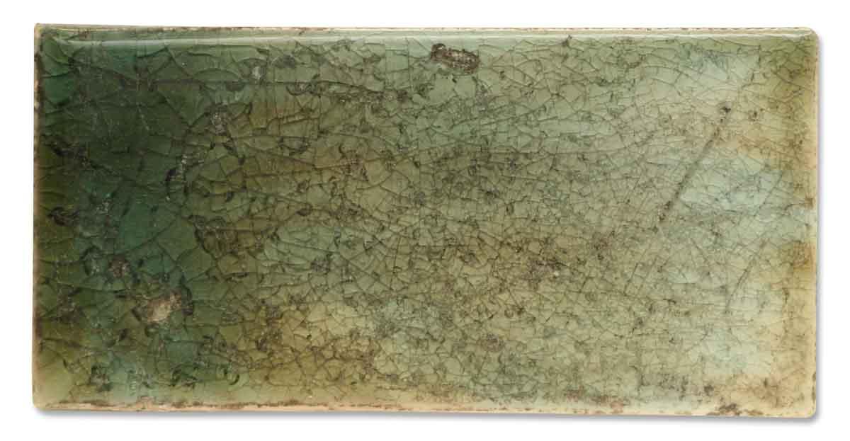 Antique Solid Green Ceramic Tile