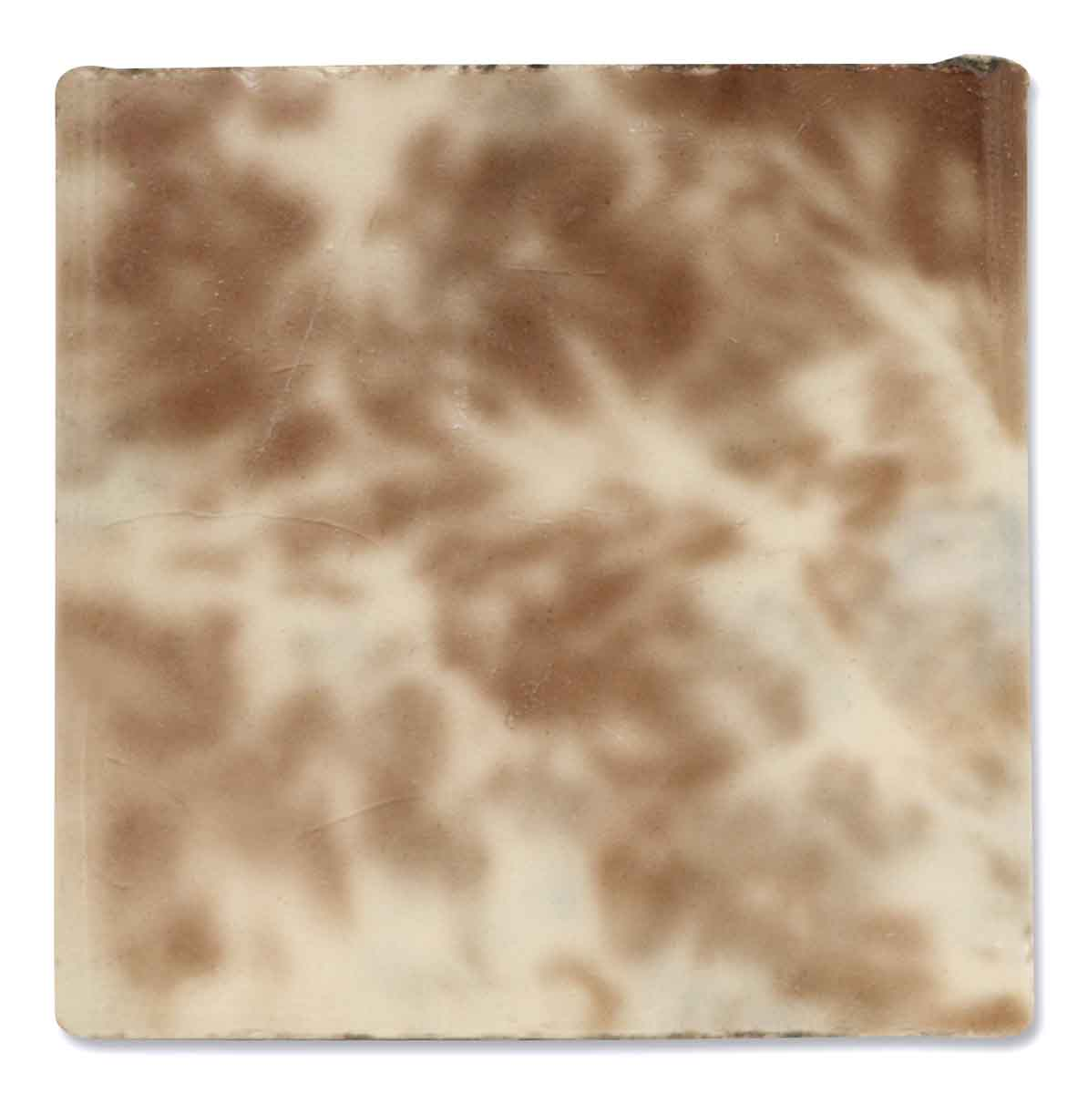 Antique Brown & Tan Ceramic Tile
