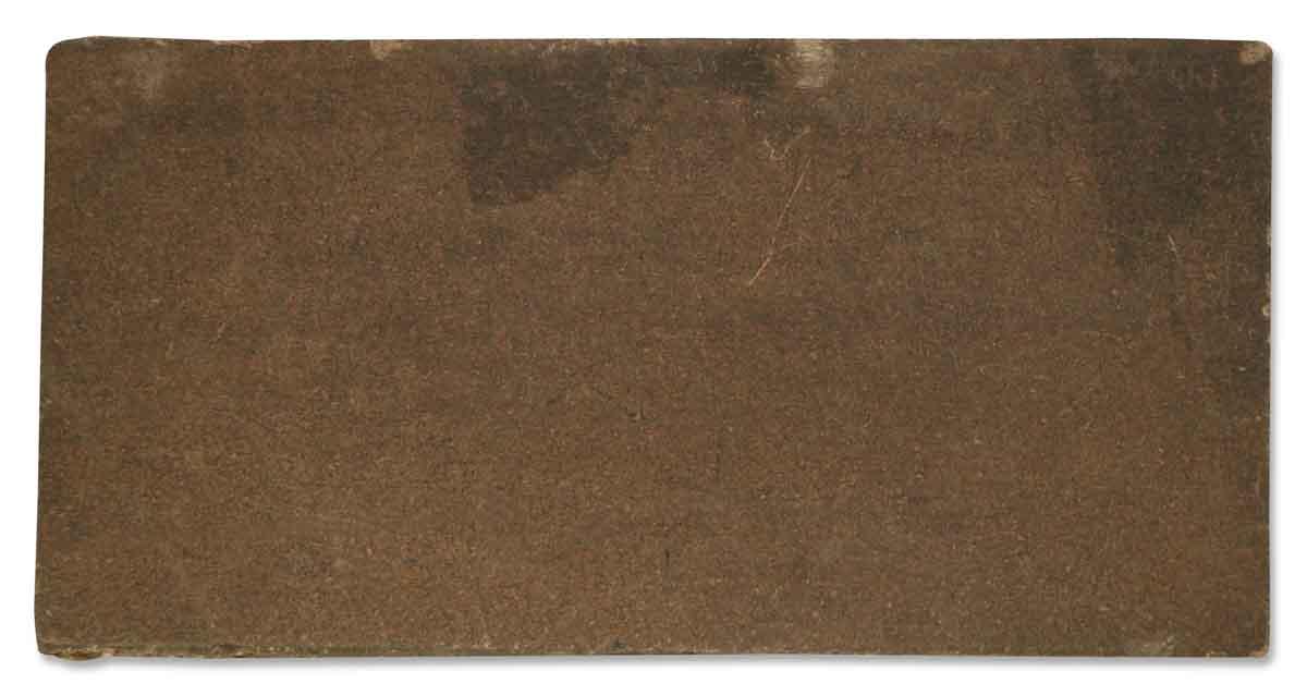 Dark Brown Matte Tile Olde Good Things