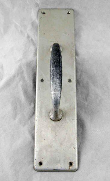Brushed Nickel Over Brass Door Pull