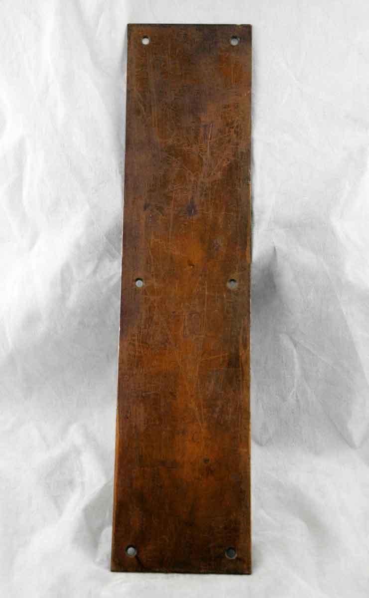 Brass Standard Push Plate