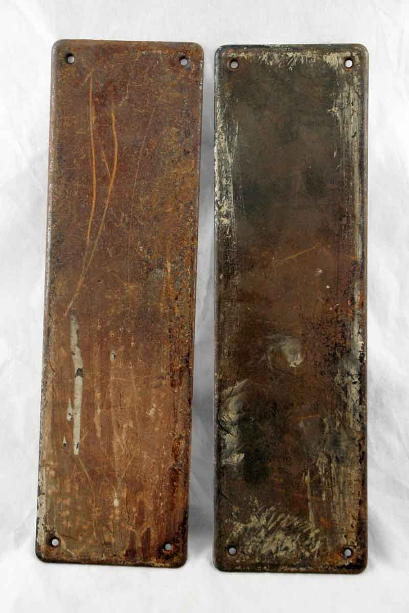 Original Solid Bronze Push Plate