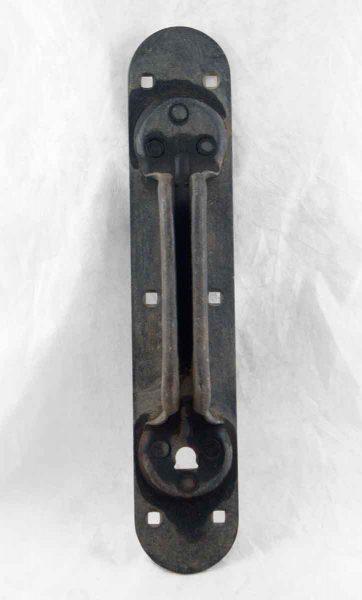 Steel Arts & Crafts Door Handle