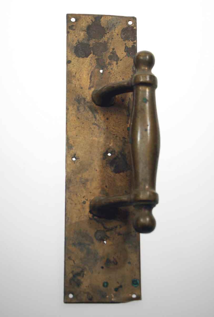 Original Antique Brass Solid Door Pull