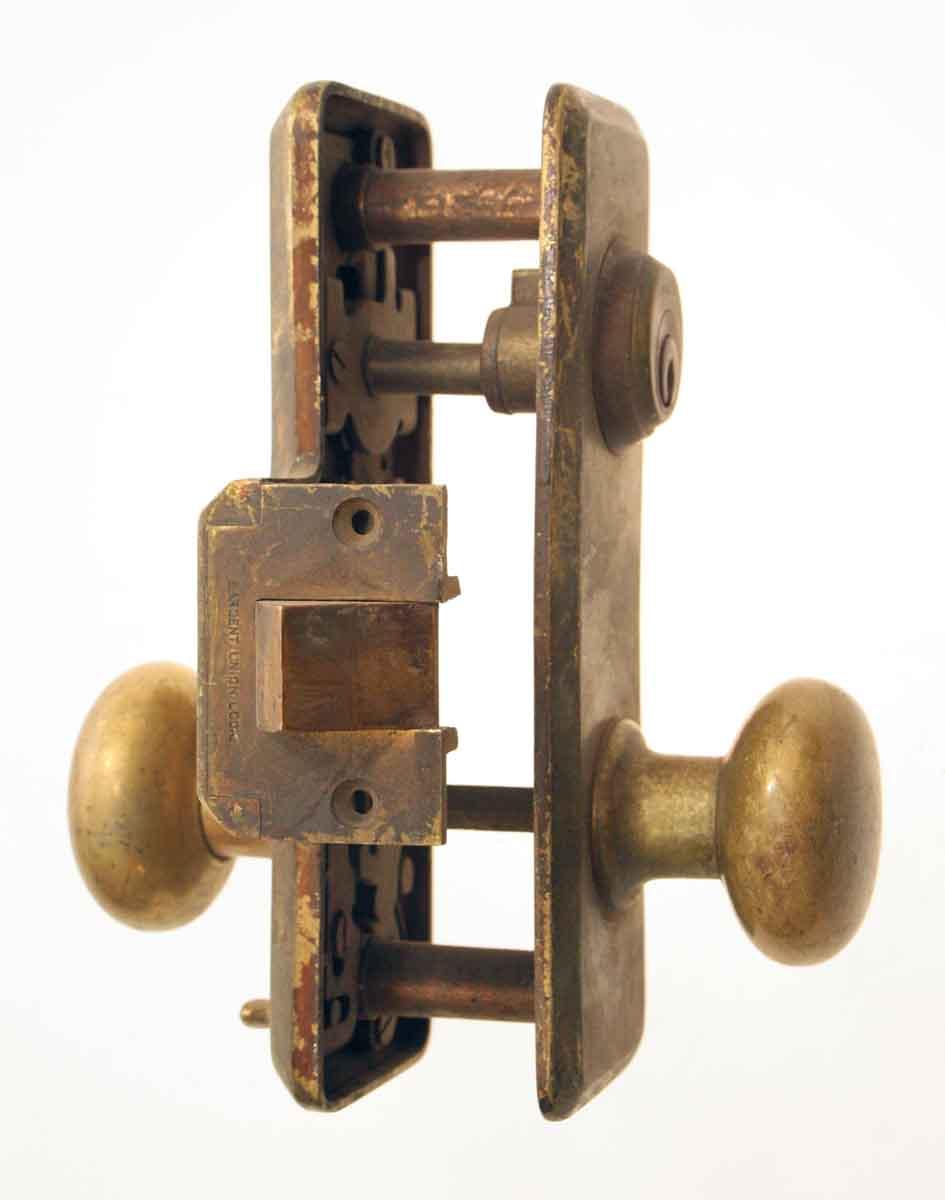 Sargent Bronze Unit Lock Set Olde Good Things