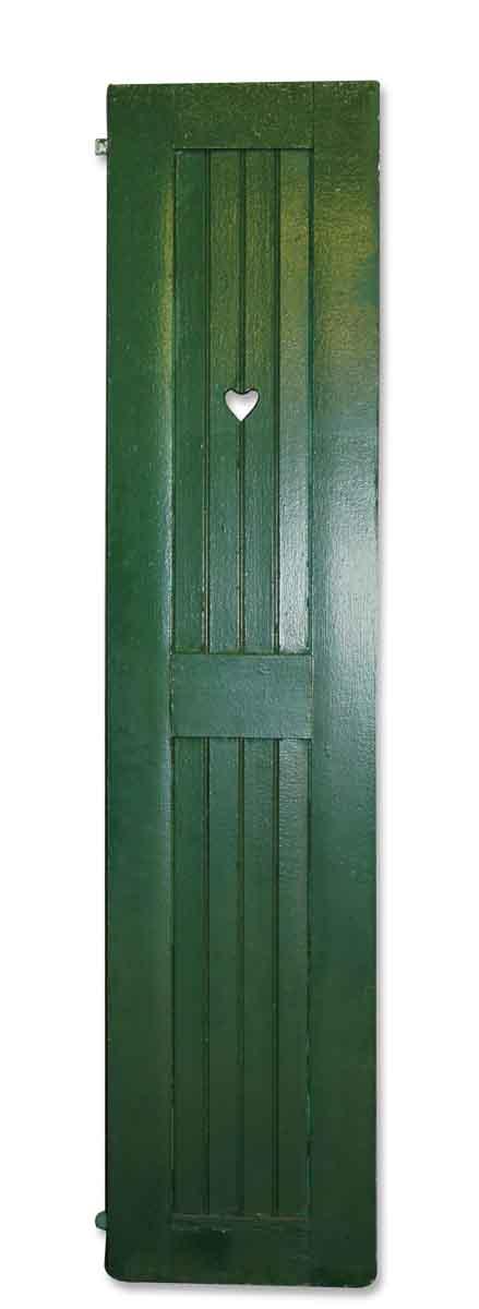Tall Green Shutter