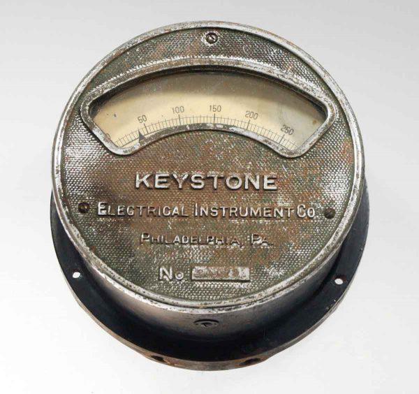 Original Antique Voltmeter