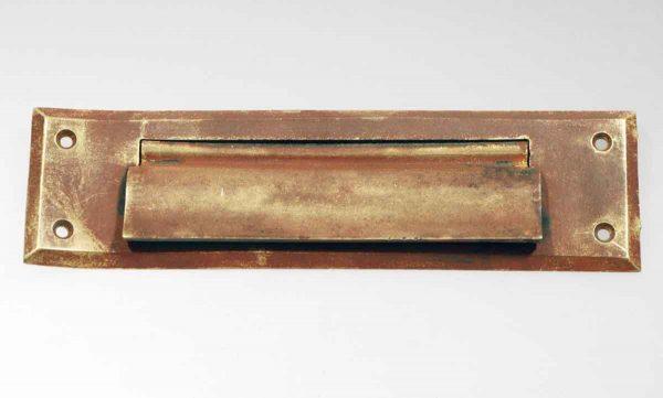 Antique Brass Letter Slot Cover