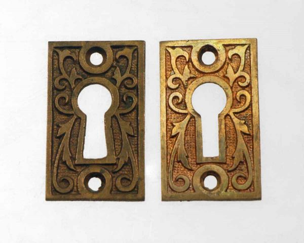Aesthetic Bronze Keyhole Cover